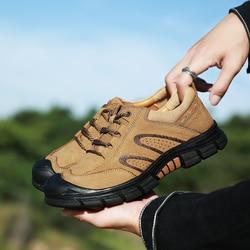 Złote drzewko wysokiej jakości prawdziwej skóry męskie trampki na zewnątrz górskie trekkingowe oddychające taktyczne buty górskie mężczyzn