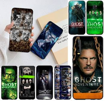 NBDRUICAI American documentary Ghost Adventures Black Phone Case for Huawei P30 P20 lite Mate 20 Pro lite P Smart 2019 prime image