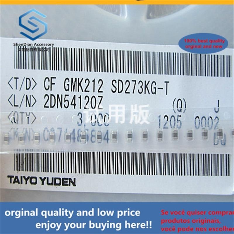 50pcs 100% Orginal New Best Quality GMK212SD273KG-T 0805 2012 0.027uF 27NF Chip Capacitor 10% 35V