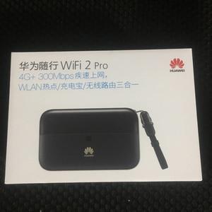 Image 5 - HUAWEI E5885Ls 93a cat6 נייד WIFI PRO2 עם 6400mah כוח בנק סוללה ואחד RJ45 LAN Ethernet יציאת E5885 נתב