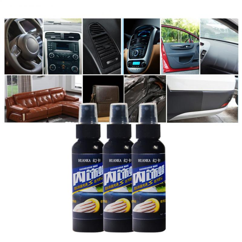 Universal Multifunctional 50ml Auto Car Interior Cleaning Tool Tire Wheel Dedicated Refurbishing Agent Cleaner Car Accessories