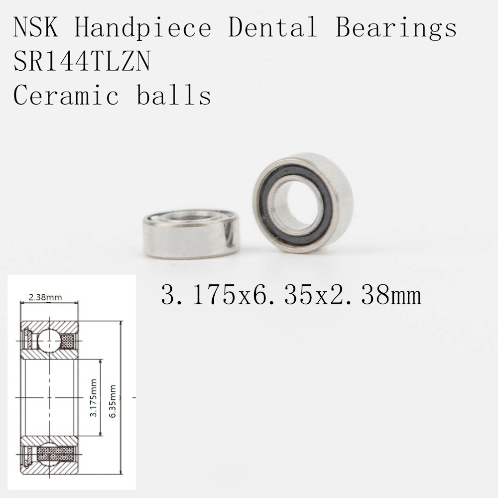 10pcs High Speed handpiece turbine ceramic dental bearings RUCA SR144TLZN