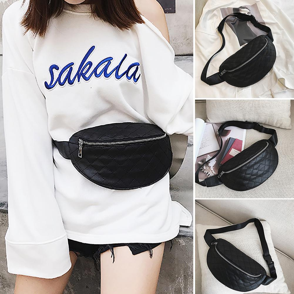 Fashion Women Zipper Plaid Cross Body Shoulder Mini Phone Girl Chest Bag Gift