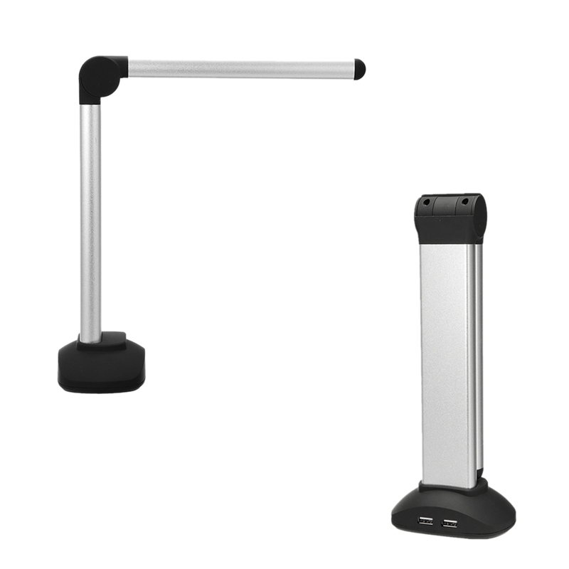 Portable High Speed USB Book Image A4 Document Camera Scanner With 8.0MP Camera School Office Library Bank HD High Definition|Scanners| |  - title=
