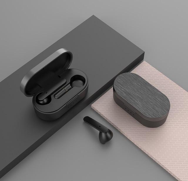 R8 auriculares inalámbricos con Bluetooth V5.0 auriculares estéreo de Control táctil HD que hablan con auriculares deportivos auriculares de música auriculares
