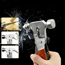 все цены на Vehicle Emergency Car Safety Life-saving Escape Hammer Window Glass Breaker Conical Horn Axe Shape Rescue Tools Accessories онлайн