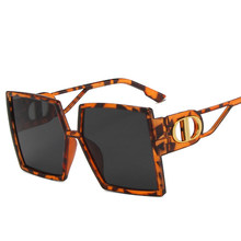Óculos de sol quadrados 2020 novos óculos de sol de luxo mulheres marca designer gradiente tons óculos femininos óculos de sol atacado