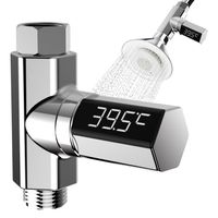 LED Display Home Water Flow Faucet Shower Thermometer Temperature Monitor Baby