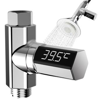 LED Display Home Water Flow Faucet Shower Thermometer Temperature Monitor Baby led display water shower thermometer