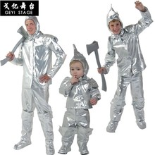 Anime oz 75th birthday magic costume adult tin man edition Halloween costumes for children(China)
