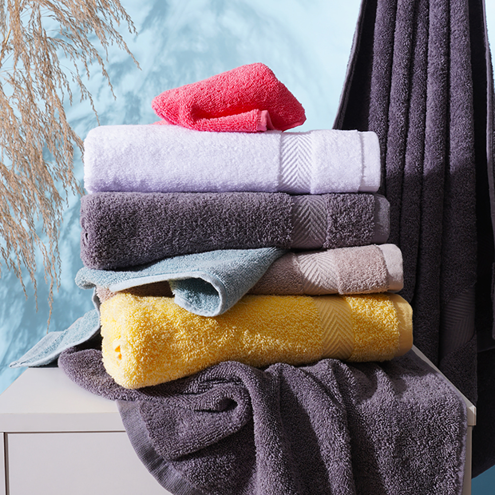 Hand Towel SEMAXE Premium Set for Bathroom, Cotton High Water Absorption Soft & Fade-Resistant (4 Hand Towel Set)The new listing 4