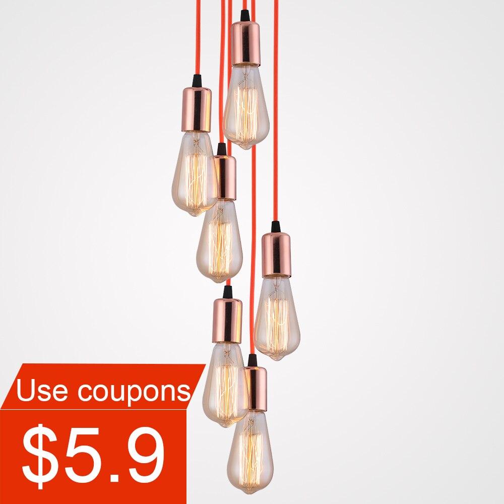Modern Pendant Ceiling Lamps Simple DIY Hanging Lighting Pendant Lights Home Interior Lights Living Room Lights