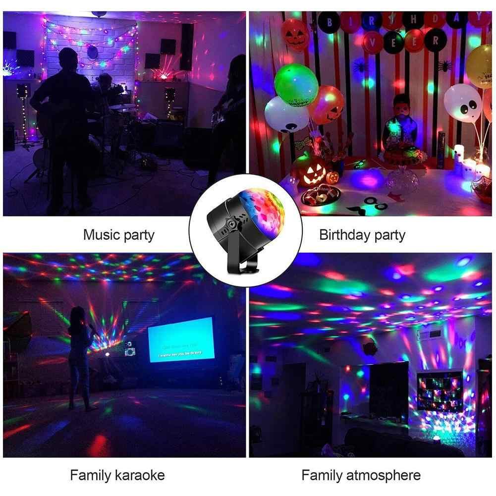 Светодиодный светильник s для дискотеки, вечерние, шаровые, стробоскопы, освещение вечеринки, звуковая активация, дистанционное управление, сценический светильник, для фестиваля, бара, клуба, вечерние