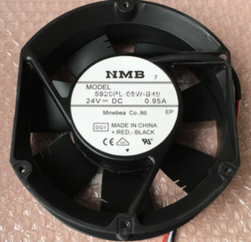 Free Shipping Cooling Fan 5920PL-05W-B49 DC 24V 0.95A 17251 17cm 172*150*51mm 2 Wires Or 3 Wires Aluminum Frame Cooling Fan