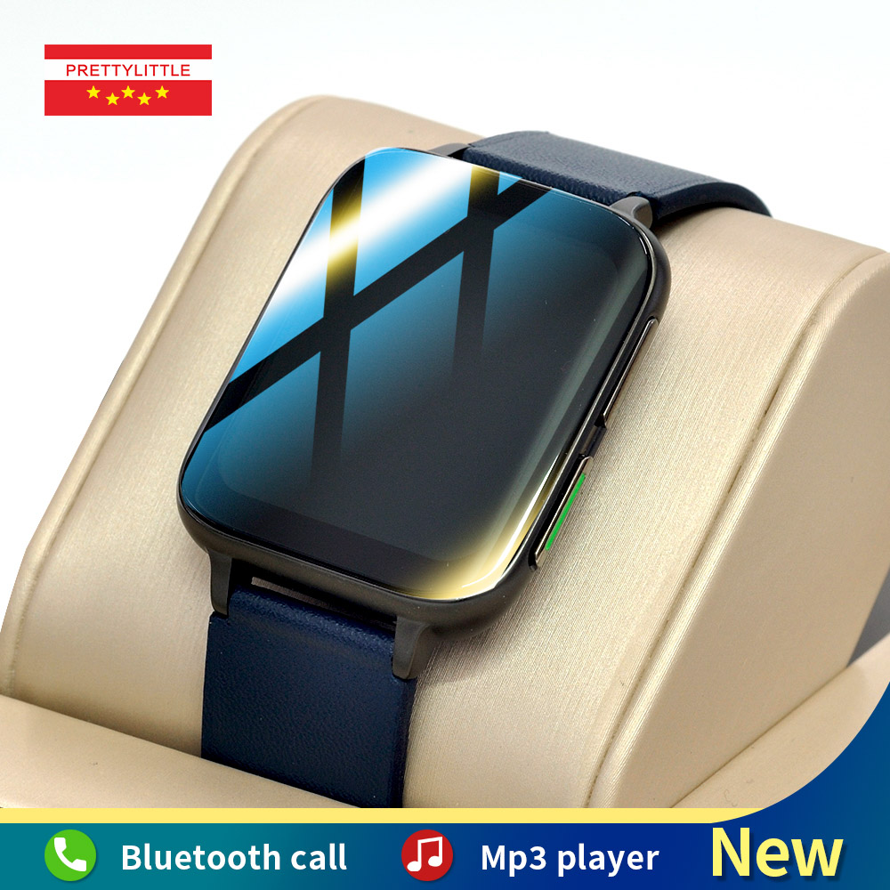 Ecg Smart Watch Men 1.78 inch Full Touch Screen Music Playback Women Sports Fitness Tracker 2021 New Smartwatch For Android IOS
