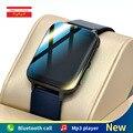 ЭКГ Смарт-часы для мужчин 1,78 дюймов полный сенсорный Экран воспроизведения музыки для занятий спортом, занятий фитнесом трекер 2021 Новый ...
