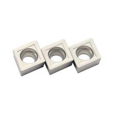 100pcs CCMT060204 MT CT3000 Ceramic Internal Turning Tools Cermet Grade Carbide insert Lathe cutter Tool