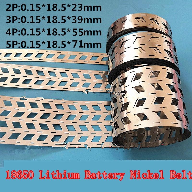 1KG 2P 3P 4P 5P 18650 lithium battery nickel strip nickel sheets spot welding Battery Nickel plated Nickel belt spot welder