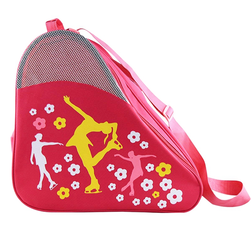 Ice & Inline Skate Bag - Premium Bag To Carry Ice Skates, Roller Skates, Inline Skates For Kids