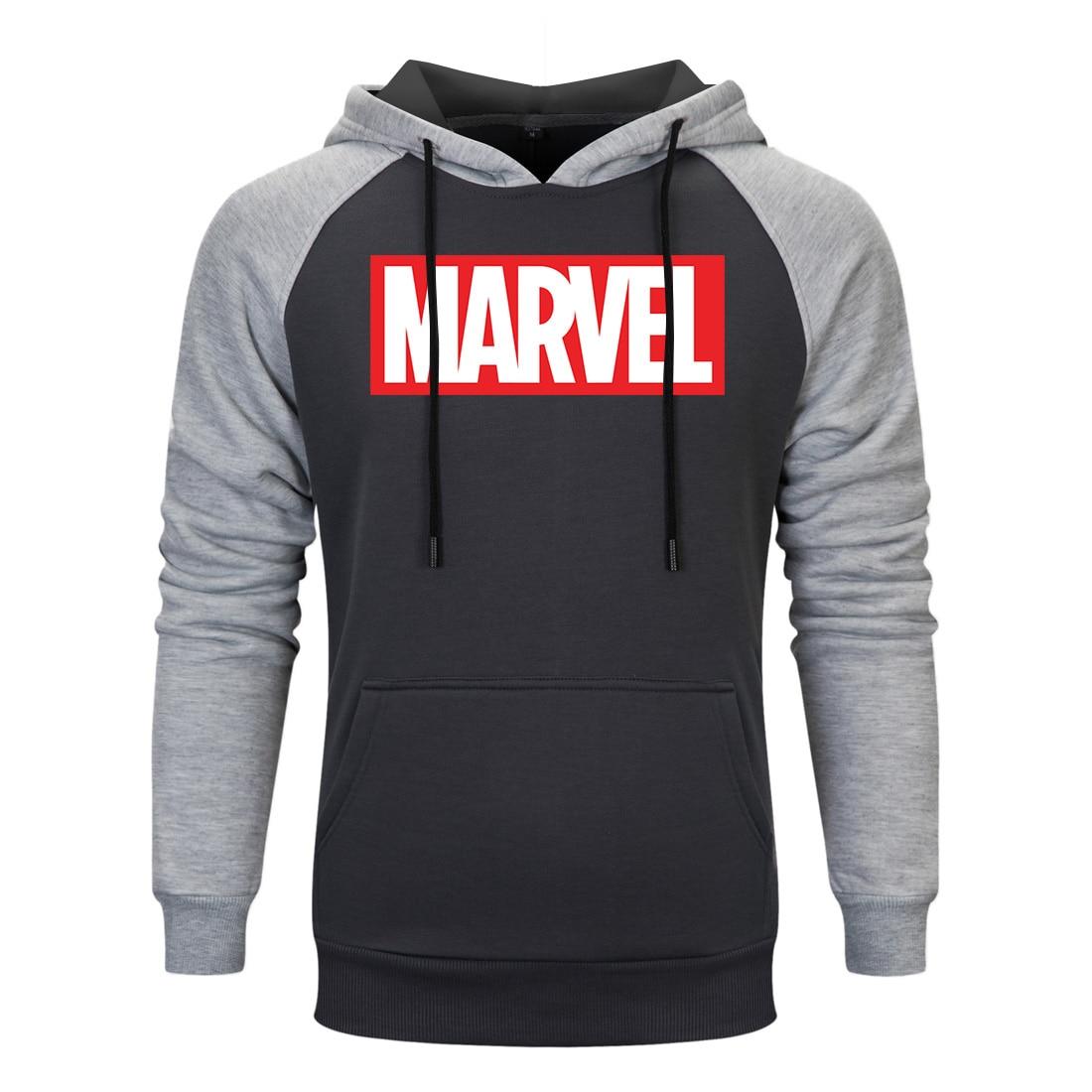 2019 Fashion Marvel Sweatshirt Men Autumn New Avengers Cotton Cool Street Hip Hop Clothing Casual Hoodies Tops Sudadera Hombre