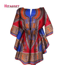 Hitarget 2019 Fashion african dresses for women clothing Clothing dashiki tops customizable WY1781
