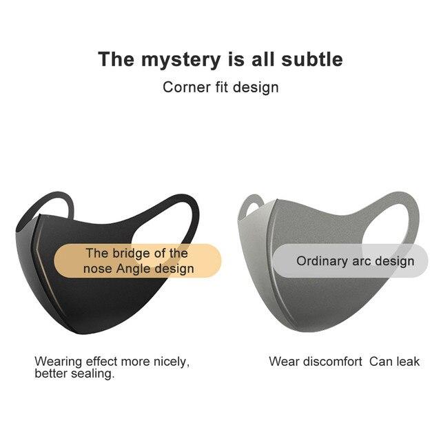 Large number of sponge ear hanging masks dustproof riding masks dustproof and breathable outdoor sports riding masks 5