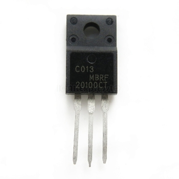 10pcs/lot MBRF20100CT MBRF20100 20100CT TO-220F In Stock - discount item  8% OFF Active Components
