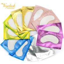 50pairs New Paper Patches Eyelash Eye Pads Lash Eyelash Extension Paper Patches Eye Tips Sticker Wra