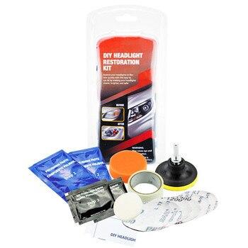 цена на Headlight repair kit DIY headlight automotive brightener car care headlight mirror repair clean lamp polishing paste