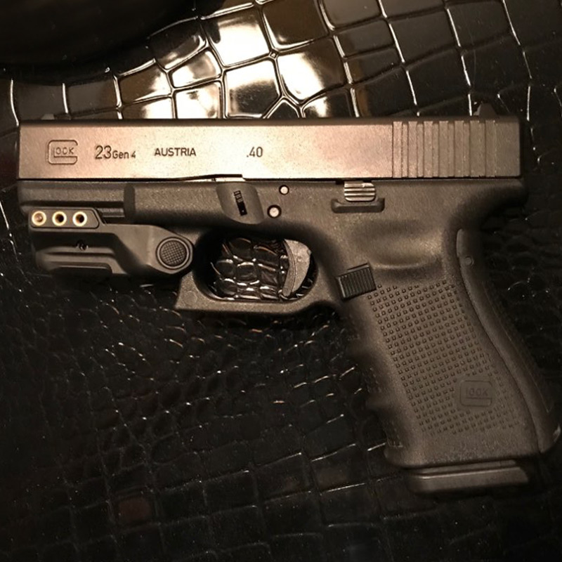 Laserspeed Police Glock 17 18c 19 21 26 28 Green Laser Sight USB Rechargeable Colimador Laser For Springfield Colt 1911-0