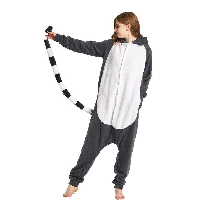 Image 2 - Adults kigurumi Animal Pajamas Women Sleepwear  All in One Pyjama Animal Suits Cosplay unicorn Stitch Garments Cartoon Pijama