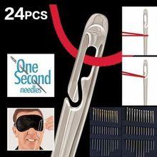 Швейные иглы 12 шт 36 42 см боковое отверстие для быстрого открытия
