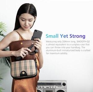Image 2 - Zhiyun 부드러운 Q2/부드러운 4 3 축 스마트 폰 핸드 헬드 짐벌 안정제 아이폰 11 프로 최대 XS X 8P 삼성 S10 S9 S8 화웨이
