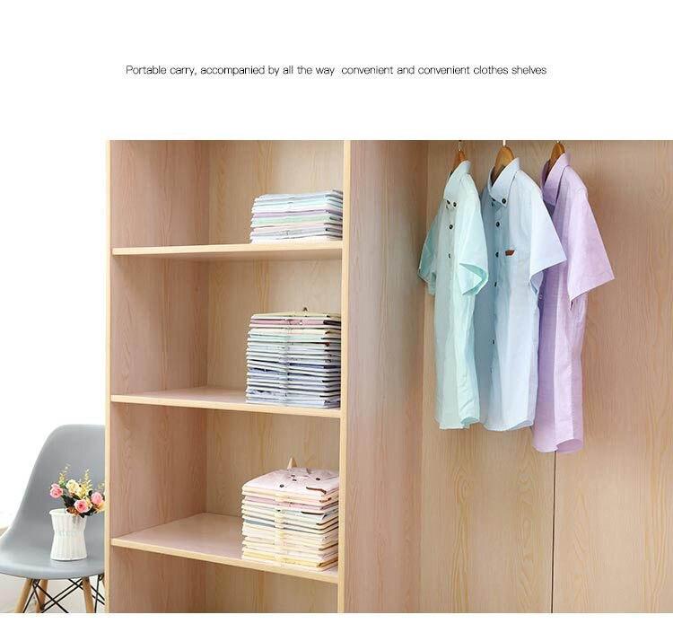 Clothes-Organizer Shirt Clothing Board Dividers Stackable Folding Lazy 5pcs/10pcs