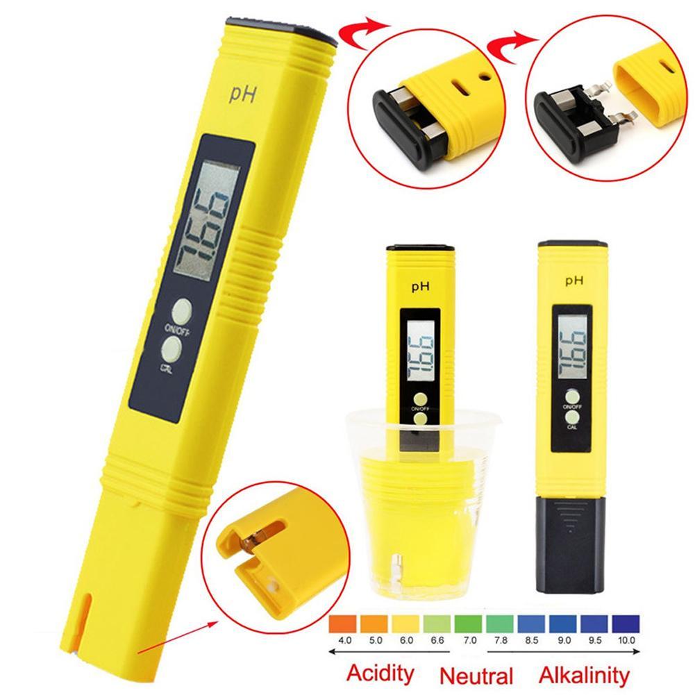 Портативный цифровой измеритель PH в виде ручки с ЖК-дисплеем, тестер для аквариума, бассейна, воды, вина