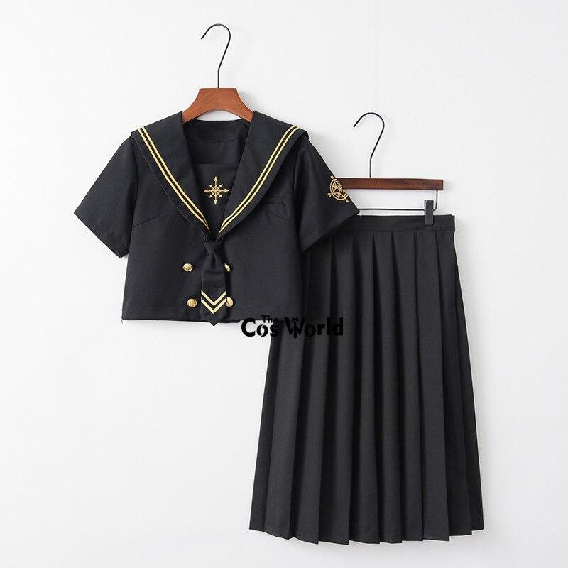 2019 Neue Damen Frauen Mädchen JK Sailor Mini Schuluniform Cosplay Faltenrock
