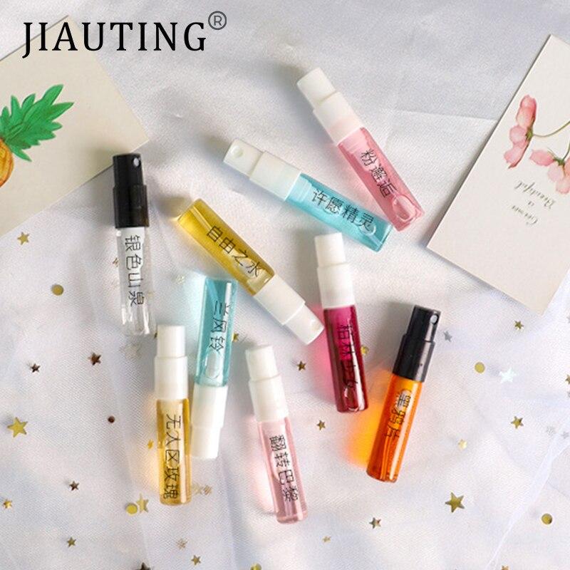 JIAUTING 3ML Mini Parfüm Für Männer Und Frauen Zerstäuber Dame Weiblich Männlich Parfüm Spray Lang Anhaltende Blume Duft Deodorant