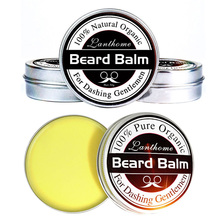 Conditioner Beard-Balm for And Organic Moustache-Wax Smooth-Styling Top-Quality Natural