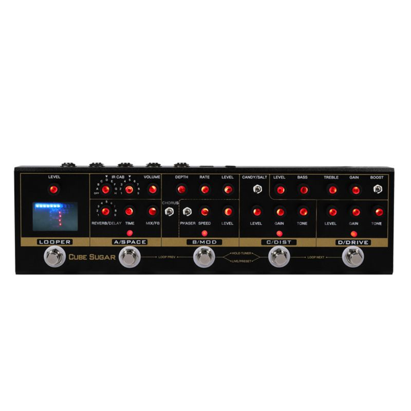 CUVAVE CUBE SUGAR Combined Effects Pedal with 72 IR Cabinets Simulation