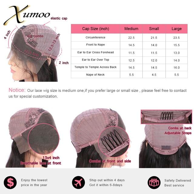 Xumoo дешевая естественная линия волос remy человеческие волосы