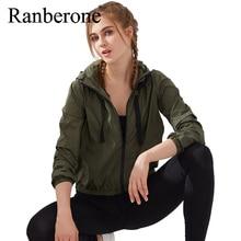 Sports Jacket Running Hooded Zipper Tennis Ball Jacket Women Casual Sunscreen Windbreaker Breathable Quick Dry Fitness Yoga Wear