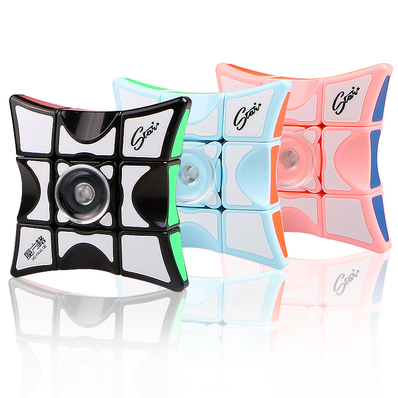 Fingertip Rubik's Cube Spinner Genuine XMD Magic Cube 133 Rubik's Cube Whirligig Toy Hand Spinner Model