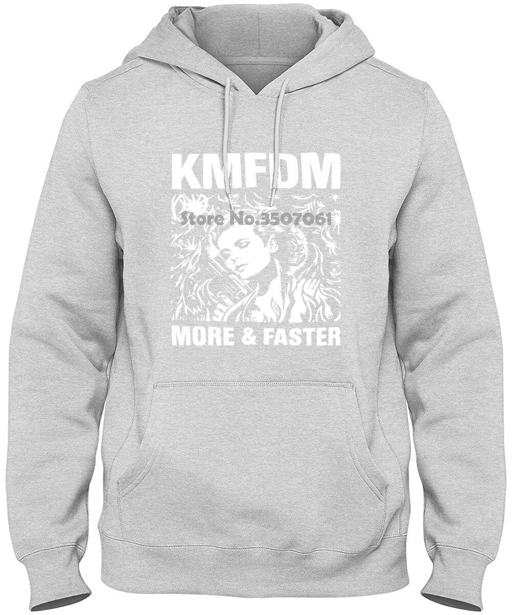 KMFDM MORE /& FASTER INDUSTRIAL KRAUT MDFMK EXCESSIVE FORCE NEW BLACK T-SHIRT