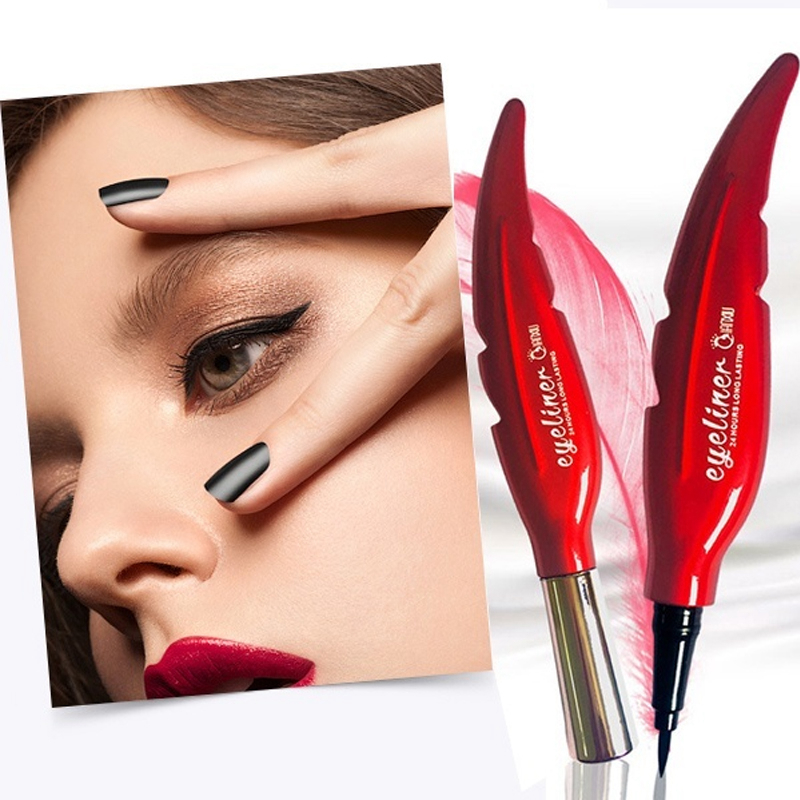 Eyeliner Waterproof Liquid Black Long-lasting Eye Liner Pencil Professional Makeup Cosmetics Tools Korean