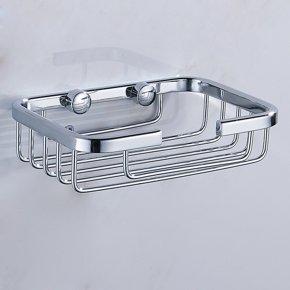 Wall Mounted Shower Soap Holder Stainless Steel Bathroom Storage Box Container Soap Dish Basket Tray Rack Bathroom Accessories
