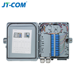 Image 5 - 12 core or 24 core Termination FTTH fiber optic distribution box full with single mode pigtail SC adapter