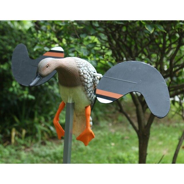 Remote Control Lifelike Male Duck Hunting Decoy Garden Animal Ornament Toy