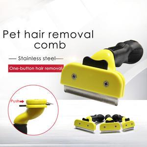 Shedding Comb Grooming-Tool Pet-Hair Pet-Dog-Cat-Brush Dogs Cats-Supply