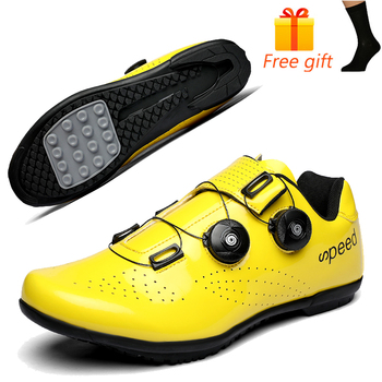 Discolor Cycling Shoes Man MTB Mountain Bike Shoes SPD Cleats Road Bicycle Shoes Sports Outdoor Training Cycle Sneakers 24