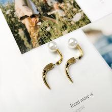 Женские серьги кольца в стиле k pop модные ювелирные украшения